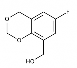 (6-Fluoro-4H-1,3-benzodioxin-8-yl)methanol, 90% 1g Maybridge
