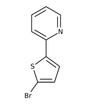 2- (5-Bromo-2-thienyl) pyridin, 97% 1g Maybridge