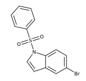 5-Bromo-1-(phenylsulfonyl)-1H-indole, 97% 1g Maybridge