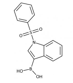 1-(Phenylsulfonyl)-1H-indol-3-ylboronic acid, 97%, May contain varying amounts of anhydride 250mg Maybridge