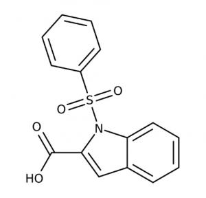 1-(Phenylsulfonyl)-1H-indole-2-carboxylic acid, 97% 1g Maybridge
