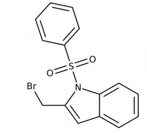 2-(Bromomethyl)-1-(phenylsulfonyl)-1H-indole, 97% 250mg Maybridge