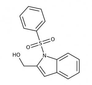 [1-(Phenylsulfonyl)-1H-indol-2-yl]methanol, 97% 250mg Maybridge