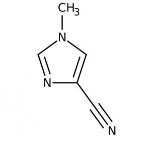1-Methyl-1H-imidazole-4-carbonitrile, 97% 250mg Maybridge