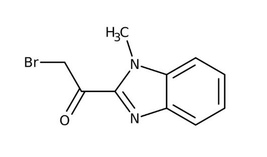 2-Bromo-1-(1-methyl-1H-benzimidazol-2-yl)-1-ethanone, 95% 1g Maybridge