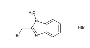 2-(Bromomethyl)-1-methyl-1H-benzimidazole hydrobromide, 97% 250mg Maybridge