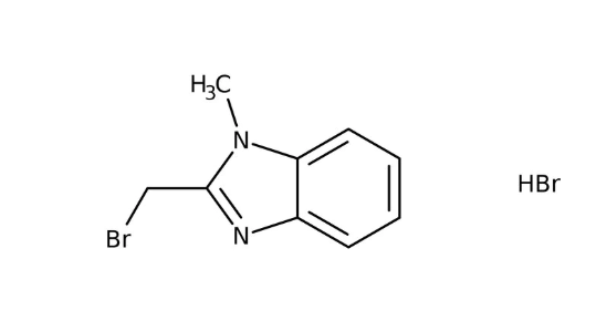2-(Bromomethyl)-1-methyl-1H-benzimidazole hydrobromide, 97% 1g Maybridge