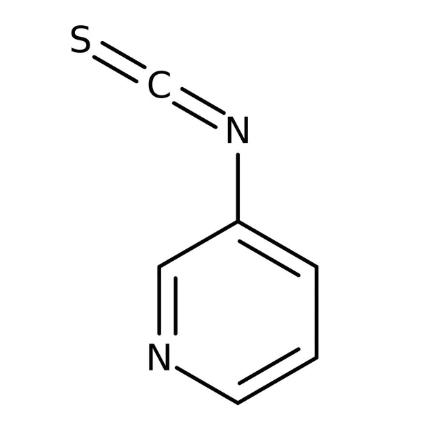 3-Pyridyl isothiocyanate, 95% 1g Maybridge