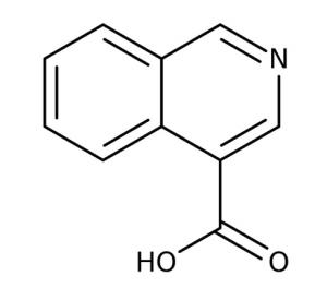 Isoquinoline-4-carboxylic acid, 97% 250mg Maybridge