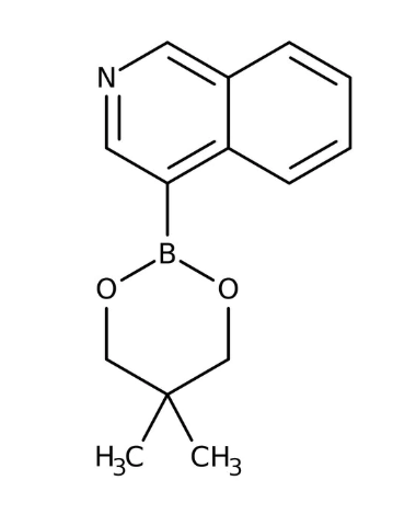 Isoquinoline-4-boronic acid 2,2-dimethylpropanediol-1,3 cyclic ester, 97% 1g Maybridge