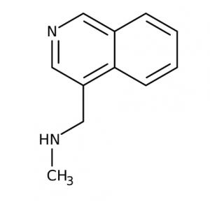 N-Methyl-(isoquinolin-4-ylmethyl)amine, 97% 250mg Maybridge