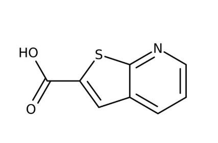 Thieno[2,3-b]pyridine-2-carboxylic acid, 95% 250mg Maybridge