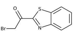 1-(1,3-Benzothiazol-2-yl)-2-bromo-1-ethanone 90+%, 250mg Maybridge