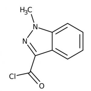 1-methyl-1h-indazole-3-carbonyl chloride 97%,250mg Maybridge