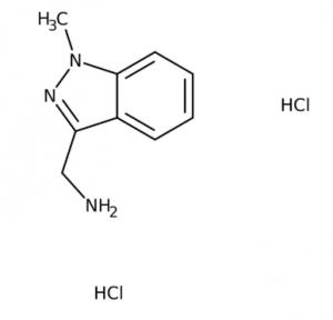 (1-Methyl-1H-indazol-3-yl)methylamine dihydrochloride 97%, 250mgMaybridge