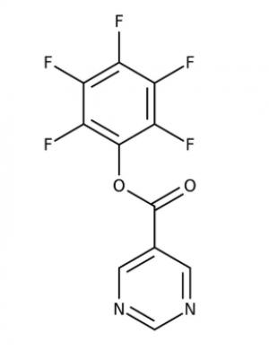 Pentafluorophenyl pyrimidine-5-carboxylate 97%, 250mg Maybridge