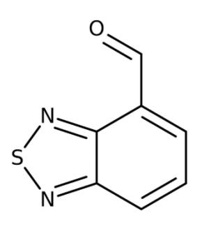 2,1,3-Benzothiadiazole-4-carbaldehyde 95%, 250mg Maybridge