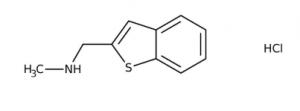 N-(1-Benzothien-2-ylmethyl)-N-methylamine hydrochloride ≥97%, 250mg Maybridge