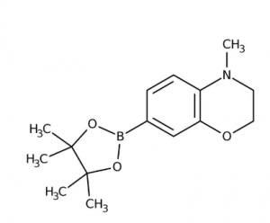 4-Methyl-7-(4,4,5,5-tetramethyl-1,3,2-dioxaborolan-2-yl)-3,4-dihydro-2H-1,4-benzoxazine 97%, 250mg Maybridge