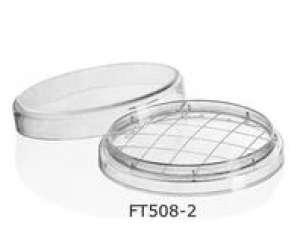 Đĩa Petri ø55mm, dạng lưới, E.O tiệt trùng Finetech
