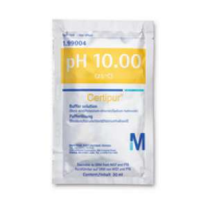 Buffer solution (boric acid/potassium chloride/sodium hydroxide), traceable to SRM from NIST and PTB pH 10.00 (25°C) Certipur® Merck