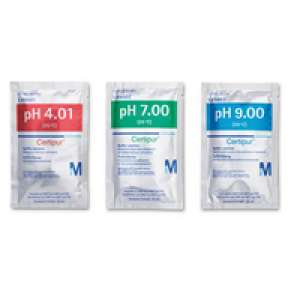 Buffer solutions traceable to SRM from NIST and PTB 10 x pH 4.01 (phthalate) 10 x pH 7.00 (phosphate) 10 x pH 9.00 (borate) pH 4.01/pH 7.00/pH 9.00 (25°C) Certipur® Merck