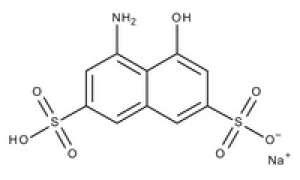 4-Amino-5-hydroxynaphthalene-2,7-disulfonic acid monosodium salt for synthesis 100g Merck