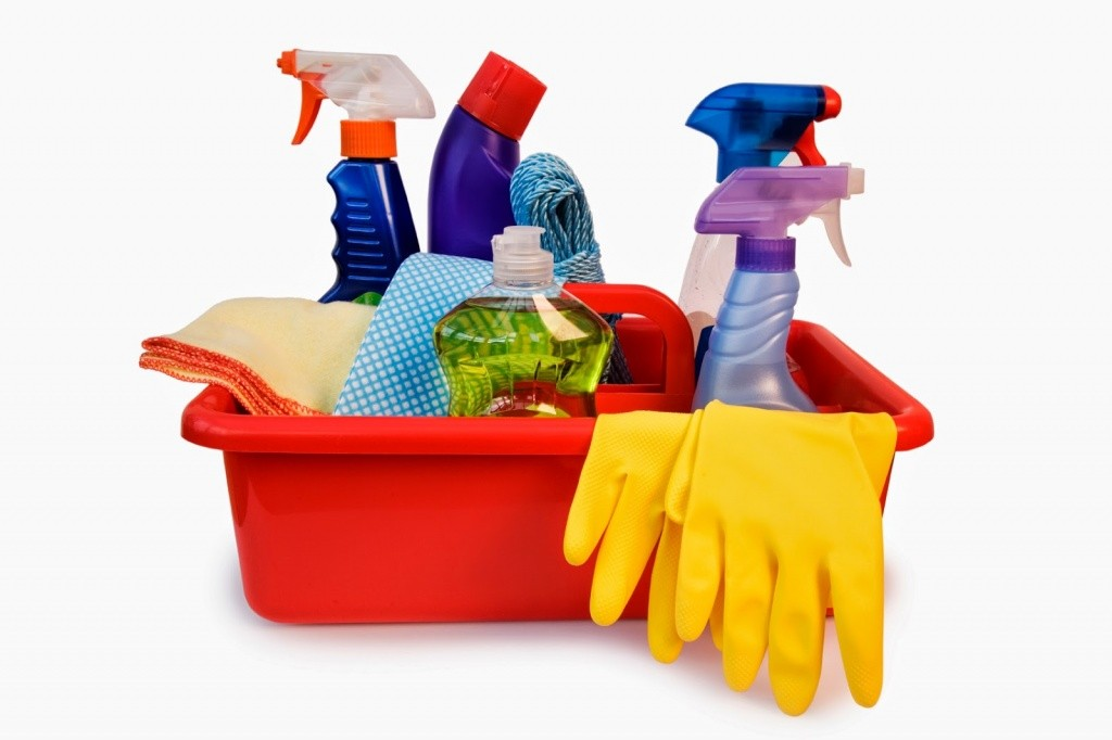 Làm chất tẩy rửa trong các gia đình