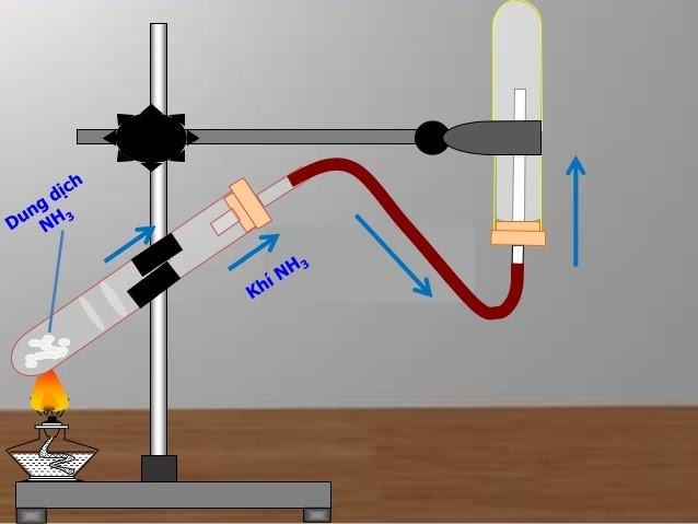 Điều chế amonic trong phòng thí nghiệm