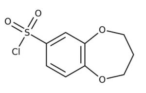 3,4-Dihydro-2H-1,5-benzodioxepine-7-sulfonyl chloride 97%, 250mg Maybridge