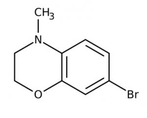 7-Bromo-4-methyl-3,4-dihydro-2H-1,4-benzoxazine 95%, 1g Maybridge