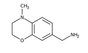 (4-Methyl-3,4-dihydro-2H-1,4-benzoxazin-7-yl)methylamine 97%, 250mg Maybridge