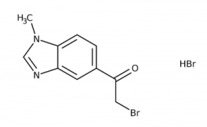 2-Bromo-1-(1-methyl-1H-benzimidazol-5-yl)ethanone hydrobromide 97%, 250mg Maybridge