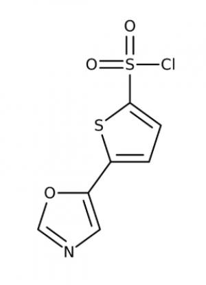 5-(1,3-Oxazol-5-yl)-2-thiophenesulfonyl chloride 97%, 1g Maybridge
