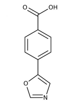 4-(1,3-Oxazol-5-yl)benzoic acid  97%, 250mg Maybridge