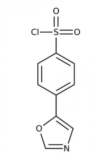 4-(1,3-Oxazol-5-yl)benzenesulfonyl chloride 97%, 250mg Maybridge