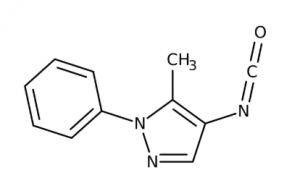4-Isocyanato-5-methyl-1-phenyl-1H-pyrazole 97+%, 250mg Maybridge