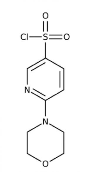 6-Morpholin-4-yl-pyridine-3-sulfonyl chloride 97%, 250mg Maybridge