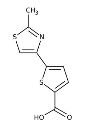 5-(2-Methyl-1,3-thiazol-4-yl)-2-thiophenecarboxylic acid 97%,1g Maybridge