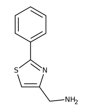 (2-Phenyl-1,3-thiazol-4-yl)methylamine 97%, 10g Maybridge