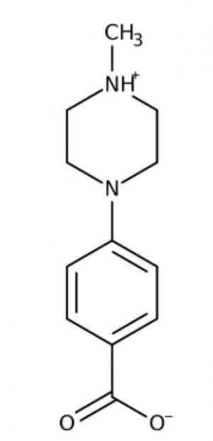 4-(4-Methylpiperazino)benzoic acid 97%, 250mg Maybridge