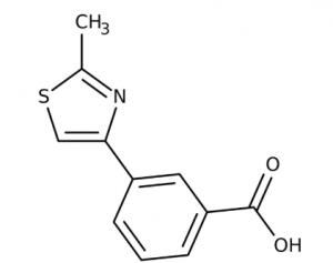 3-(2-Methyl-1,3-thiazol-4-yl)benzoic acid 97%, 250mg Maybridge