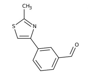 3-(2-Methyl-thiazol-4-yl)-benzaldehyde, 97%, Maybridge