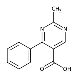 2-Methyl-4-phenyl-5-pyrimidinecarboxylic acid 97%, 250mg Maybridge