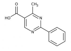 4-Methyl-2-phenyl-5-pyrimidinecarboxylic acid 97%, 1g Maybridge