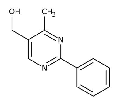 (4-Methyl-2-phenyl-5-pyrimidinyl)methanol 95%, 250mg Maybridge