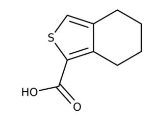 4,5,6,7-Tetrahydro-benzo[c]thiophene-1-carboxylic acid 97%, 250mg Maybridge