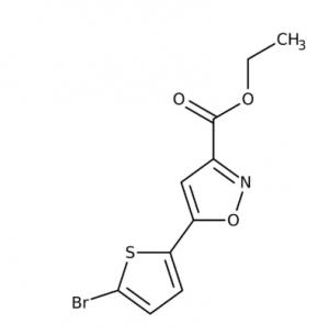 ethyle5-(5-bromo-2-thienyl)-3-isoxazolecarboxylate 97%, 250mg Maybridge