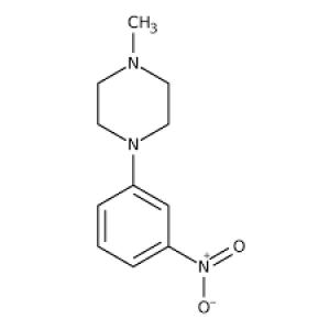 1-Methyl-4-(3-nitrophenyl)piperazine, 97% 1g Maybridge