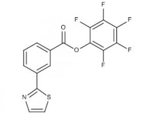 Pentafluorophenyl 3-(1,3-thiazol-2-yl)benzoate, 97% 250mg Maybridge